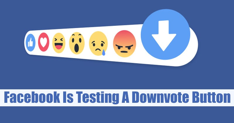 Confirmed: Facebook Is Testing A Downvote Button