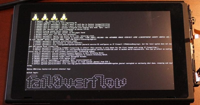Hackers Managed To Run Linux On The Switch And Claim Nintendo Can't Patch It