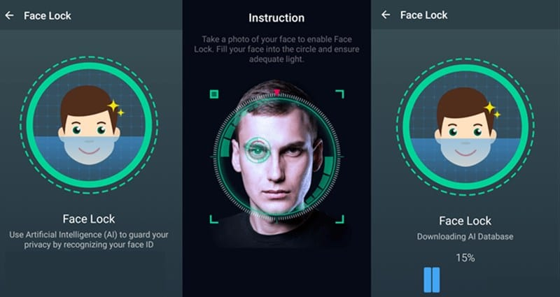 How To Add and Use face Unlock Feature in Any Android