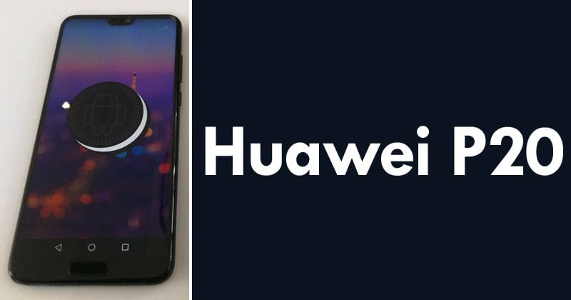 Huawei P20 Leaked With Radically Different Design
