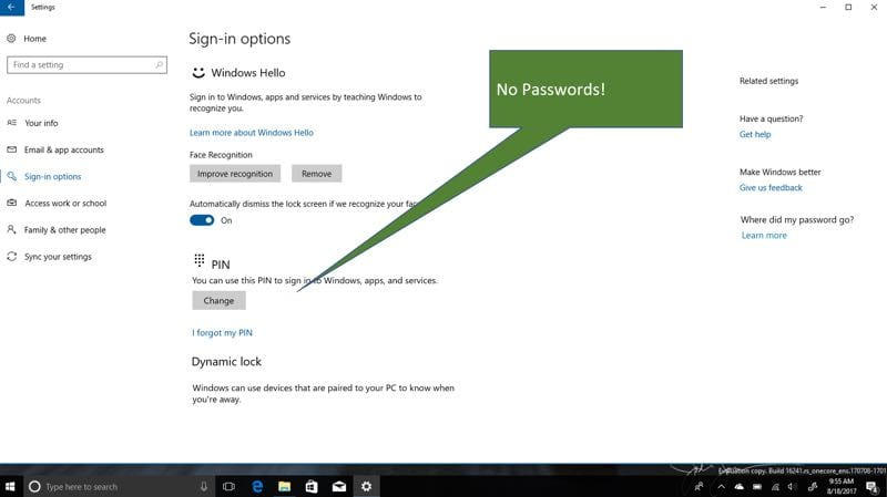 IMG 2 6 - Microsoft Ditches Passwords In New Version Of Windows 10