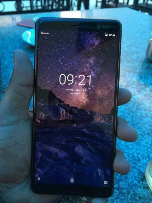 IMG 3 6 - First Nokia 7 Plus Live Image Leaks