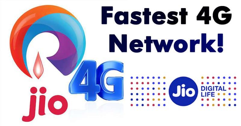 Reliance Jio Again Beats Airtel & Vodafone In Download Speeds
