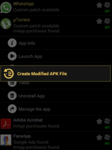 Create Modified APK File