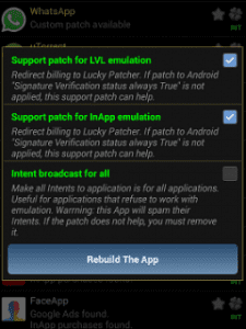 Rebuild The App