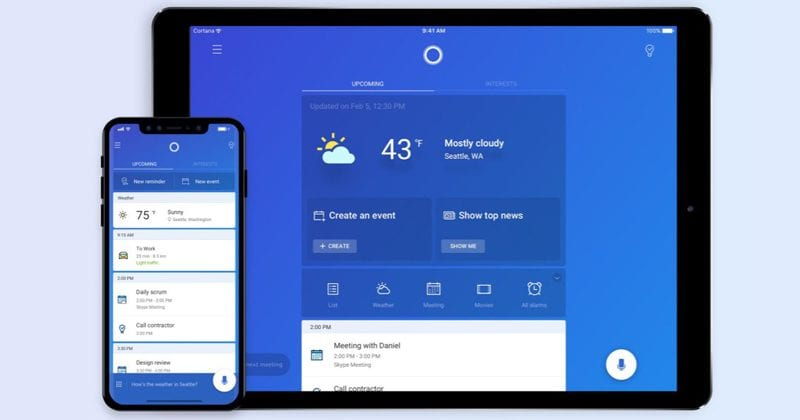 Microsoft's Virtual Assistant Cortana Is Now Available For iPad Users