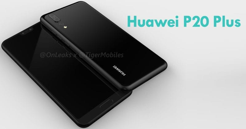 New Render Of Huawei P20 Plus Shows The Triple-Lens Smartphone In Full