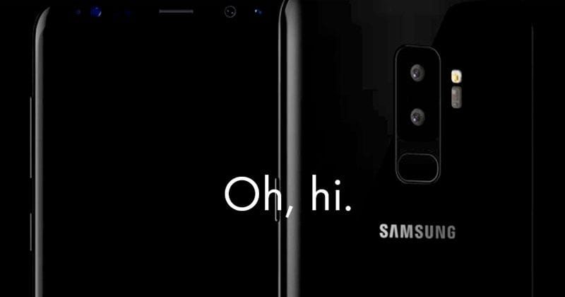 New Samsung Leak Reveals Galaxy S9 Real Official Design