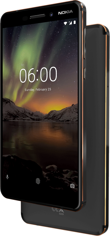 Nokia 6 - Nokia Just Launched Nokia 1, Nokia 7 Plus, Nokia 6, Nokia 8810 4G And Nokia 8 Sirocco