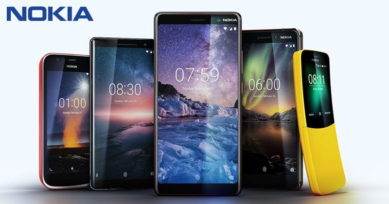 Nokia Just Launched Nokia 1, Nokia 7 Plus, Nokia 6, Nokia 8810 4G And Nokia 8 Sirocco