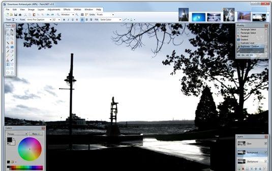 Paint.net  - 10 Best Cheaper Alternatives to Photoshop