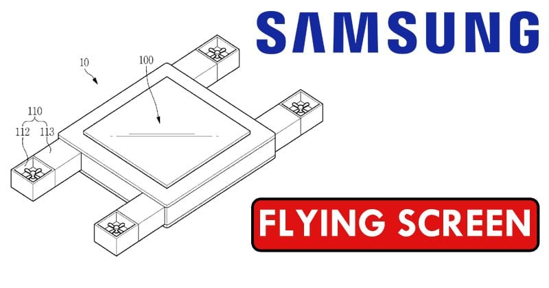 Samsung Patents A Flying Screen That's Controlled By Your Eyes