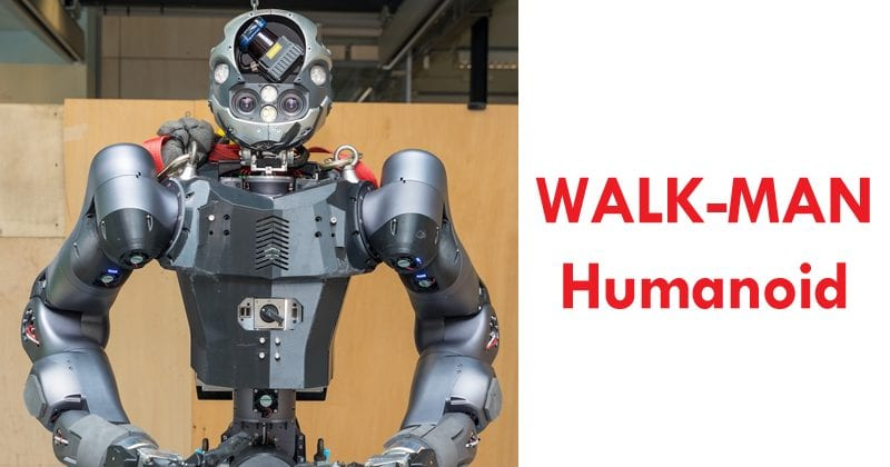 New WALK-MAN Humanoid Robot: Slimmer, Quicker, Better At Extinguishing Fire Flames