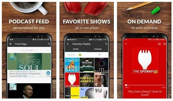 Stitcher Radio for Podcasts