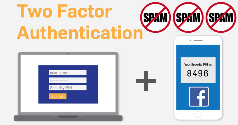 Facebook: Two-Factor Authentication Spam Was Caused By An Old Bug
