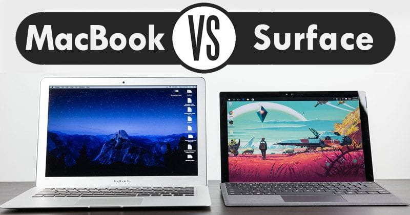 Report: Users Prefer Microsoft's Surface Over Apple's MacBook