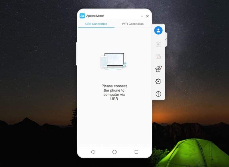 Connect Android to PC via USB cable