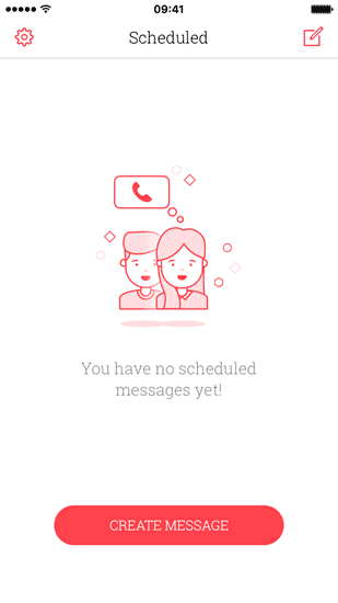 Using Scheduled App