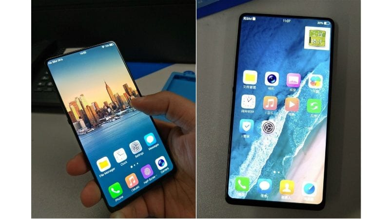 Vivo Is Working On A Completely Bezel-Less Smartphone