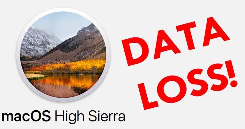 WARNING! macOS May Lose Data Due To This Critical Bug