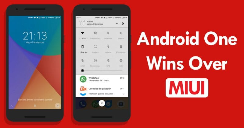 Xiaomi Deletes Twitter Poll After Android One Wins Over MIUI