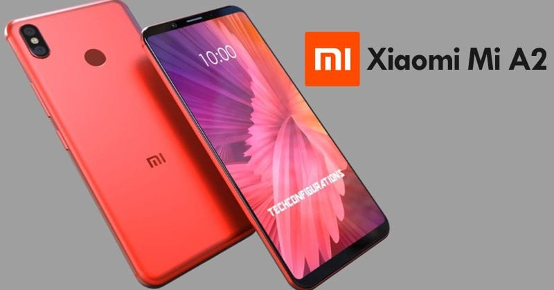 Xiaomi Mi A2 Concept Boasts Stunning Full-Screen Design