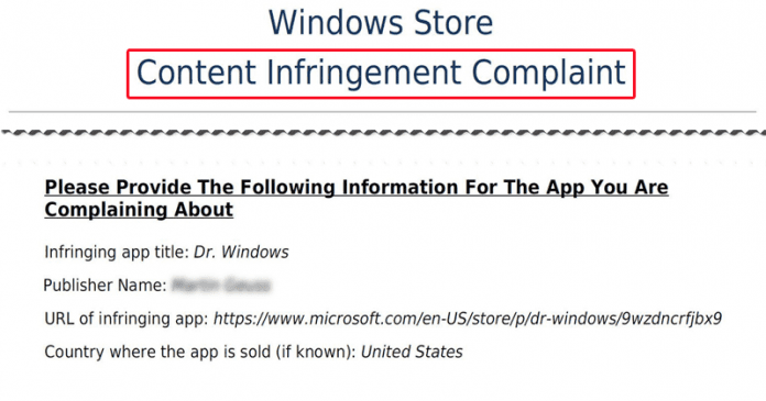 You Can't Name Your App 'Windows', Microsoft Sends Legal Notices To Developers