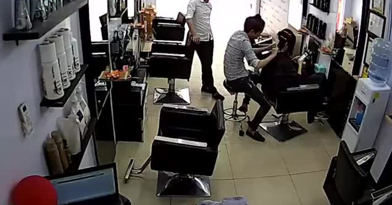 iPhone Suffers Massive Explosion in Hair Salon, Just Next to Customers