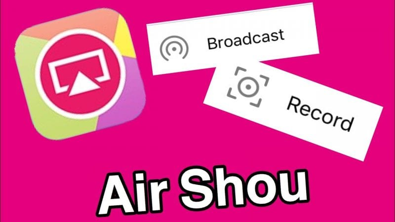 Airshou Screen Recorder Latest APK Version Free Download 2018