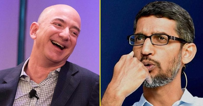 Amazon Surpassed Google To Become The World's 2nd Most Valuable Company