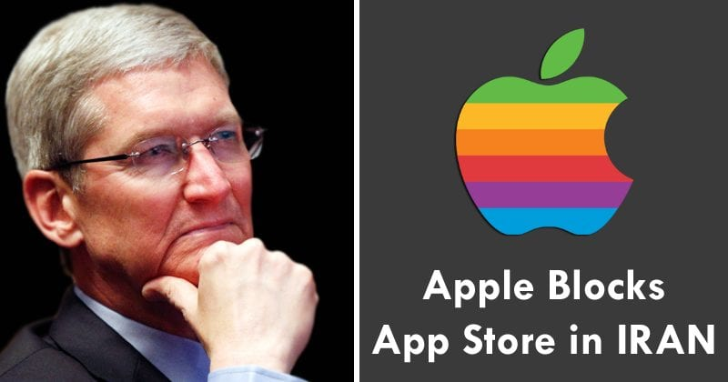 Apple Just Fully Blocked Iran From The App Store