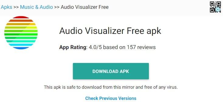 Visualiseurs audio