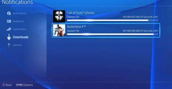 Download PlayStation 4 Games in Rest Mode