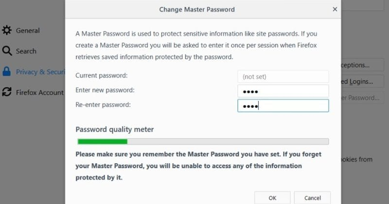 Firefox's Weak Master Password Encryption Can Be Hacked In Just 1 Minute
