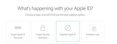 How To Fix Apple ID Has Been Disabled Issue