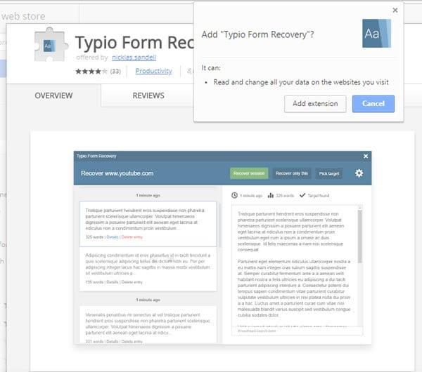 How To Recover Deleted Form Data In Google Chrome