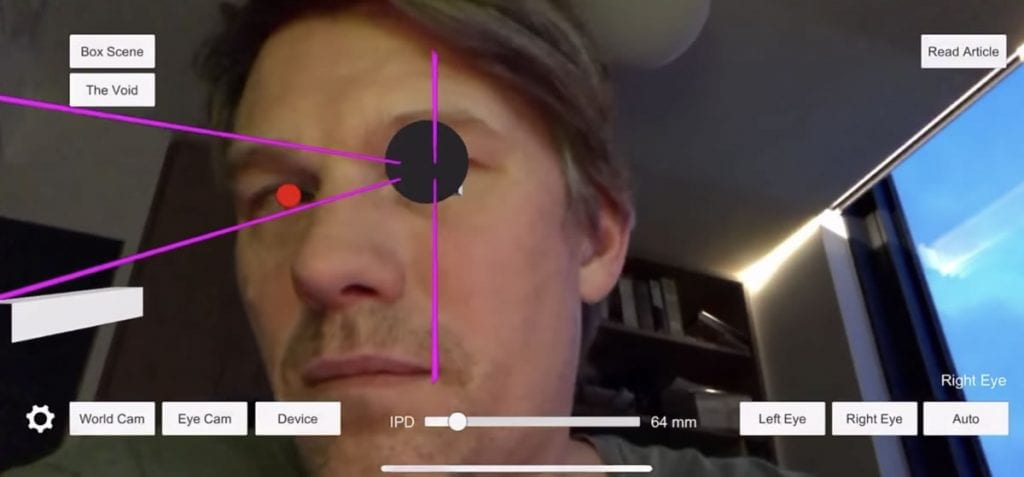 IMG 6 1 1024x477 - This AR App On The iPhone Features A Super Cool Optical Illusion