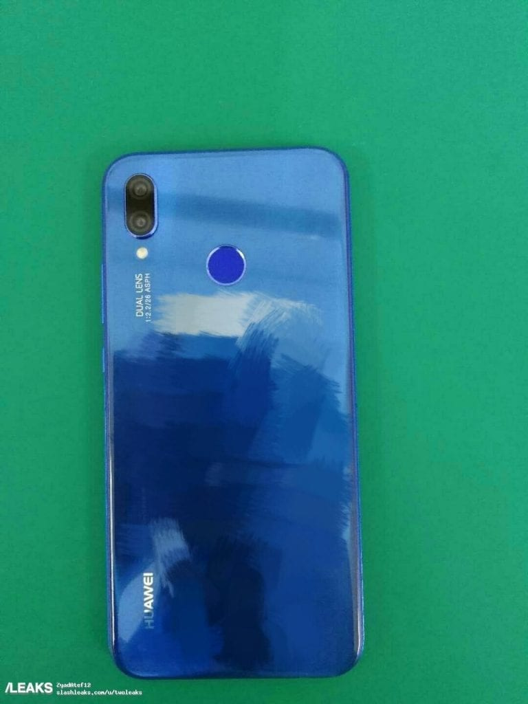 IMG 8 1 768x1024 - Huawei P20 Lite Appears In Blue Colour
