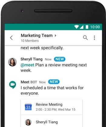 IMG 9 - Google Just Launched A New Chat Application