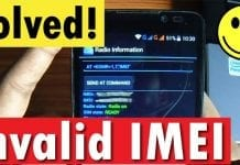 How To Fix IMEI Number Lost/Corrupt Issue On Any Android