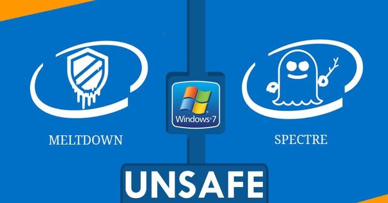 Microsoft's Meltdown & Spectre Fixes Made Windows 7 PCs MORE INSECURE