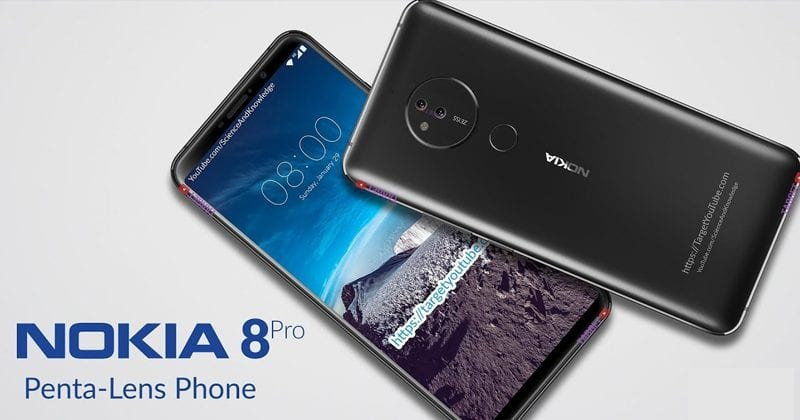 Nokia 8 Pro Is Coming To Fix The Nokia 8 Sirocco's Biggest Problem