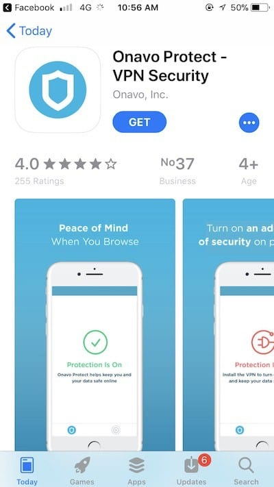 Onavo Protect - Facebook's VPN Tracks You Even When You Turn It Off