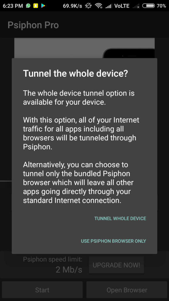 Psiphon Pro Latest APK 172 Version Free Download 2018