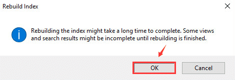 Click on 'Ok' to continue.