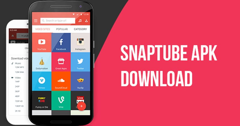 Snaptube Latest APK Version Free Download 2019
