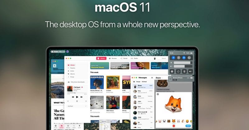 Stunning macOS 11 Concept Shows Big Changes And New Features