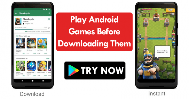 Google: Try Android Games Before Downloading Them