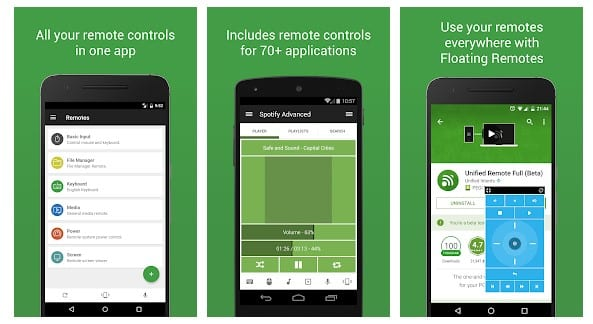 Unified Remote - How To Control Your PC Using Your Android Device