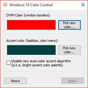 Windows 10 Color Control - 20 Best Powerful Tools To Customize Your Windows 10